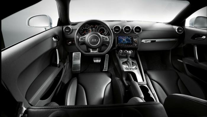 Audi TT Coupe interior