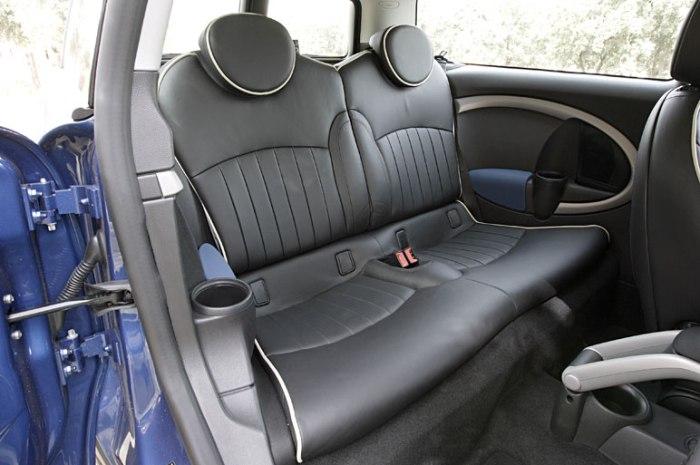 clubman rear seat