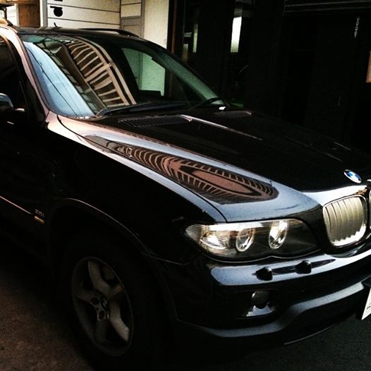 BMW X5 ウィンドーレギュレーター 交換