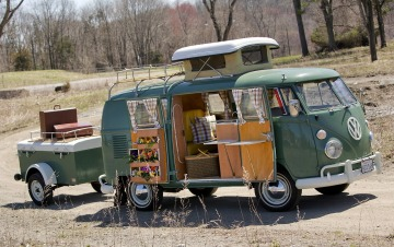 volkswagen type2 フォルクスワーゲン タイプ2 キャンプ 車中泊旅行