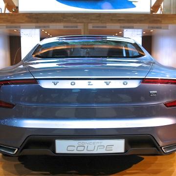 the volvo concept coupe