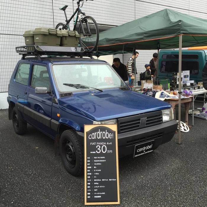 東京蚤の市 レトロカー商会 cardrobe! フィアット パンダ 4×4