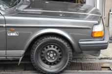VOLVO V70 V60 V40 240 ボルボ スチールホイール チープアップ